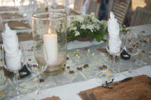 decoration repas ile maurice mariage